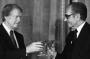 آنشب که پرزیدنت جیمی کارتر ایران را تحت توجهات شاهنشاه جزیره ثبات نامید.